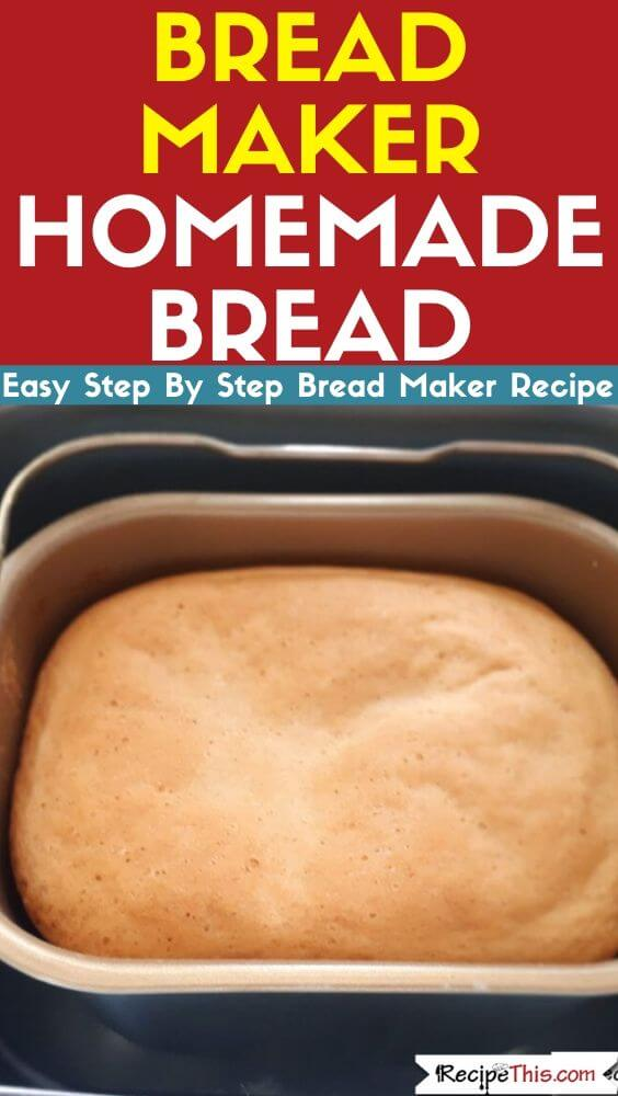 Bread Maker Homemade Bread bread machine