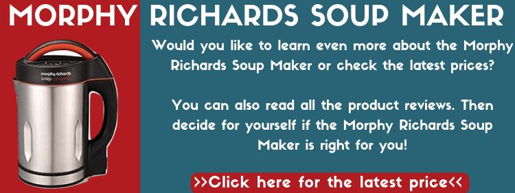 Morphy Richards Soup Maker Vs Cuisinart Soup Maker