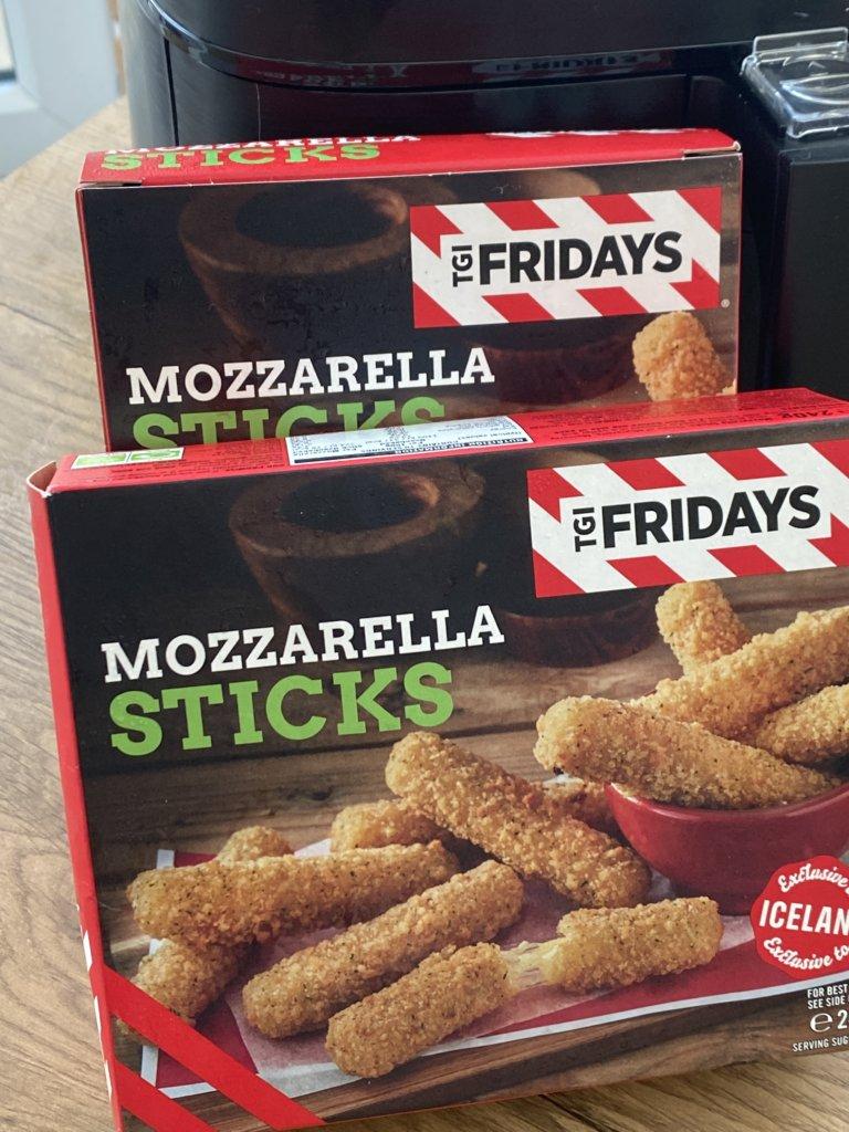 Can You Cook TGI Friday's Mozzarella Sticks In An Air Fryer