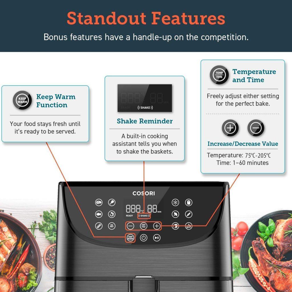 Consori Air Fryer Features