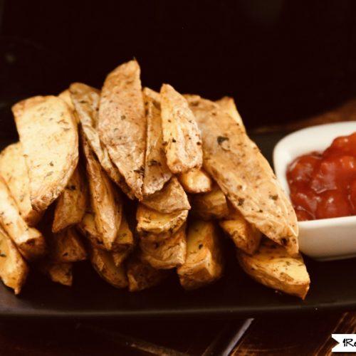 Crispy Air Fryer Potato Wedges