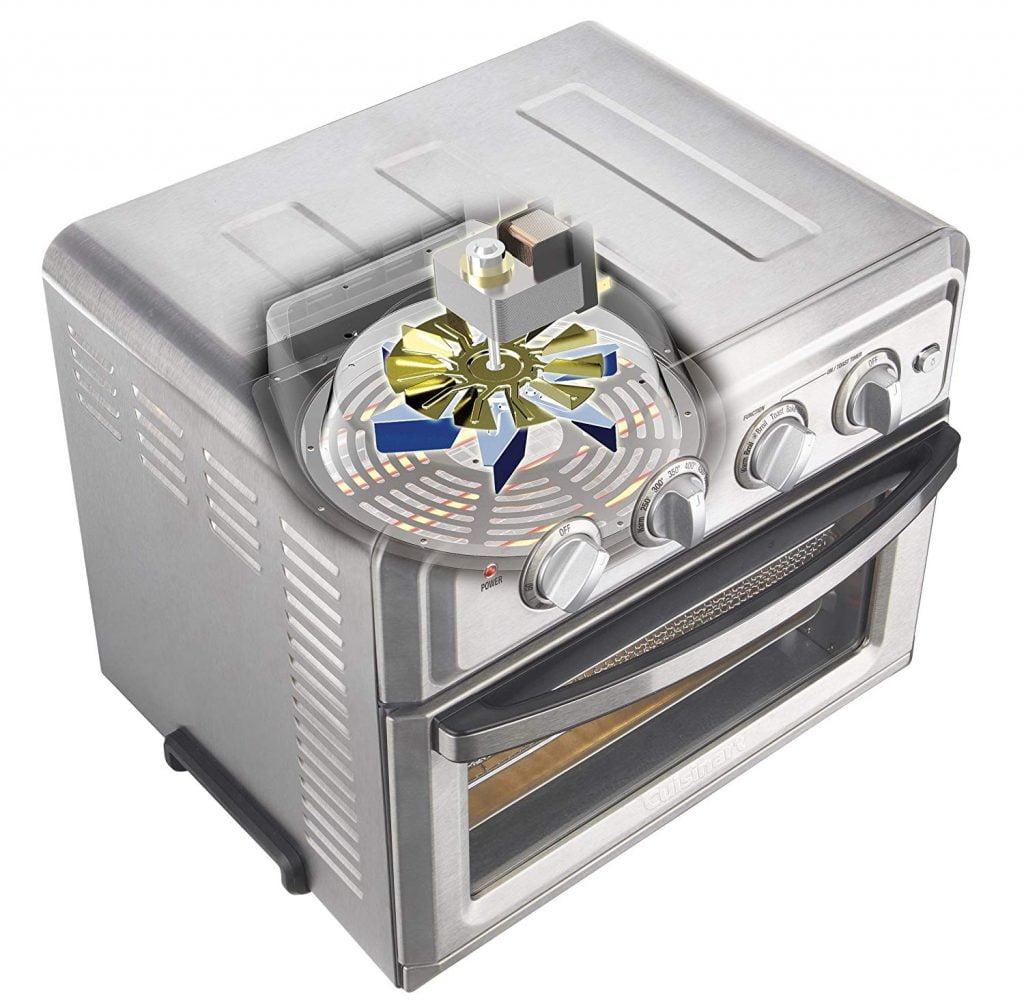 Cuisinart air fryer oven technology