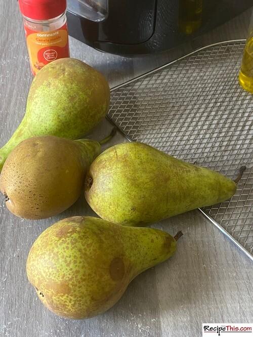Dehydrating Pears