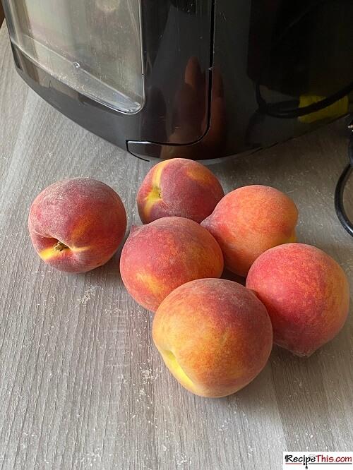 Dried Peaches Recipe