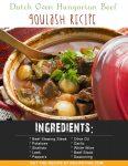 Dutch Oven Hungarian Beef Goulash Recipe