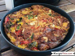 Easy Air Fryer Omelette Recipe