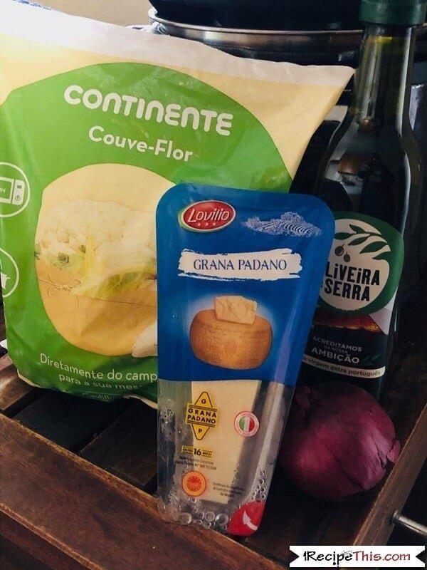 Flourless Cheese Sauce Ingredients