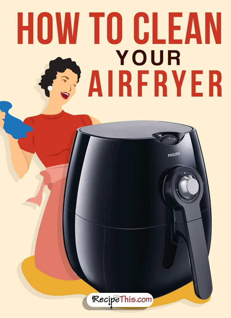 #Airfryer   How To Clean Your Airfryer
