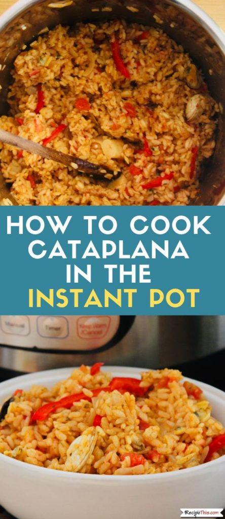 Instant Pot Cataplana