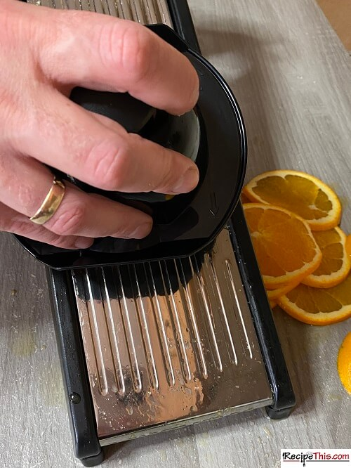 How To Cut Orange Slices