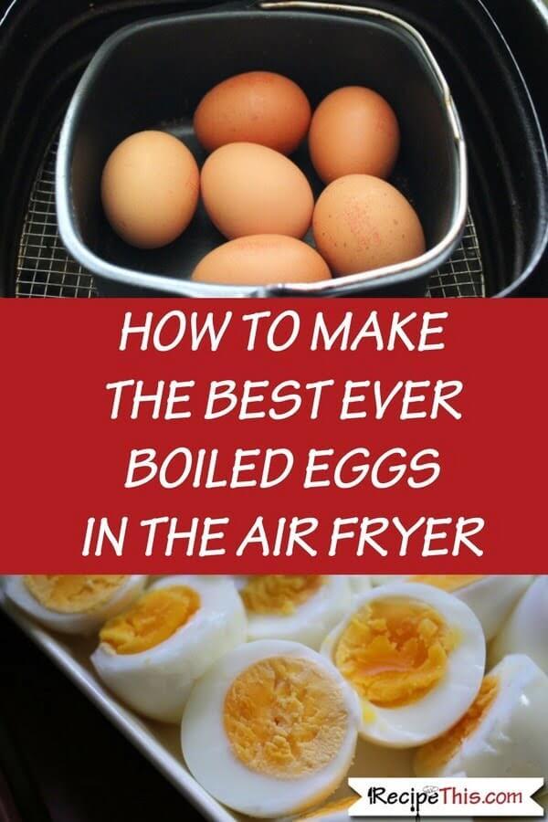 Air Fryer Soft & Hard Boiled Eggs