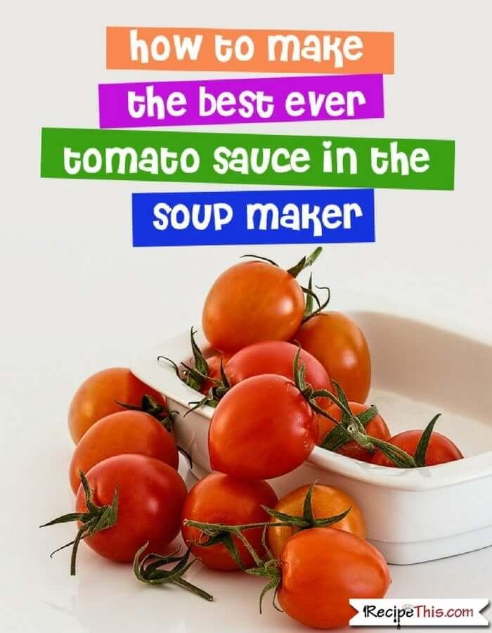 soup maker recipes Recipes for beginners