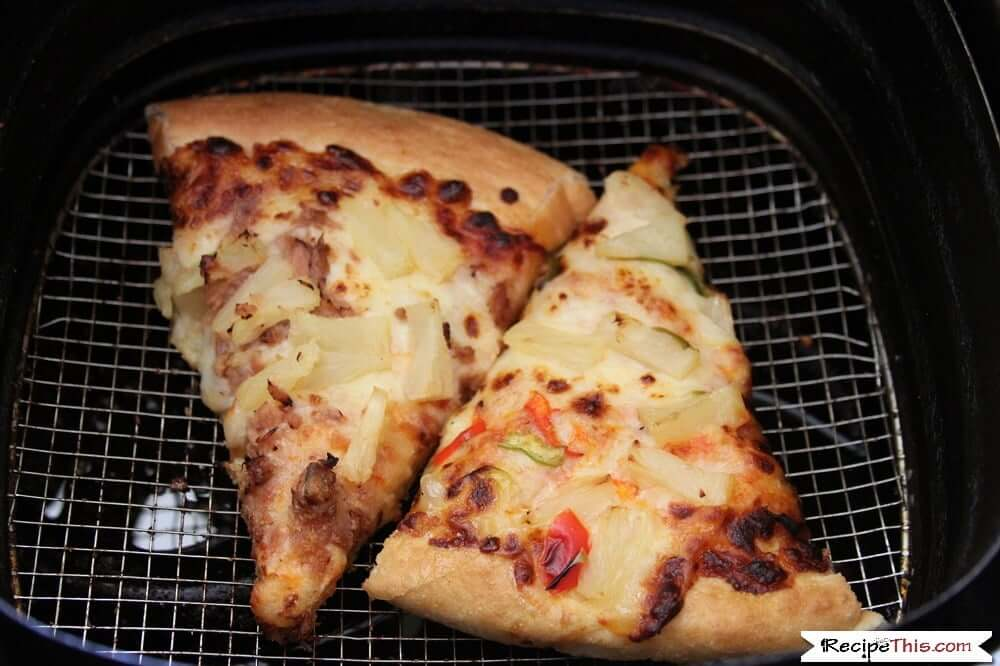 How To Reheat Pizza In An Air Fryer in the Philips air fryer