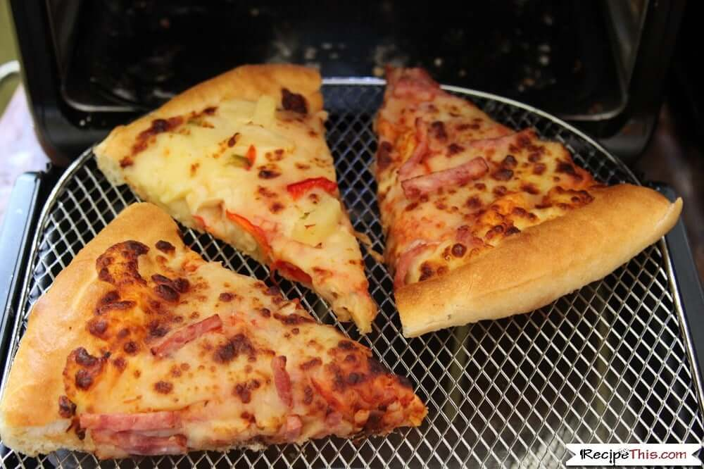 How To Reheat Pizza In An Air Fryer in the air fryer oven