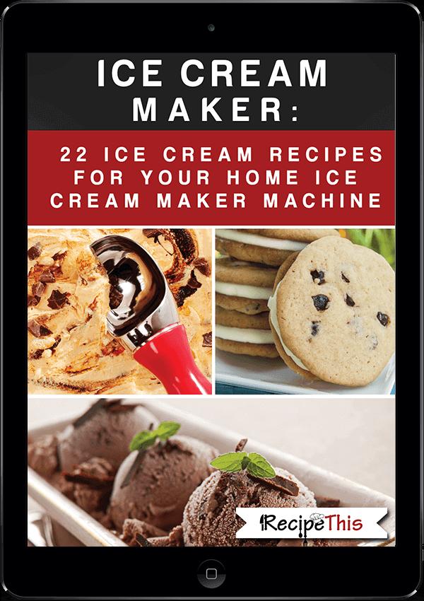 Ice Cream Maker Recipes | Icecream Maker Recipes: 22 Ice Cream Recipes For Your Home Ice Cream Maker Machine recipes from RecipeThis.com