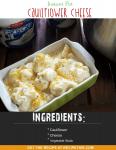 Instant Pot Cauliflower Cheese (Cauliflower Au Gratin)