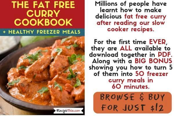 Instant Pot Freezer Meals - Healthy Curry Batch Buy It Now