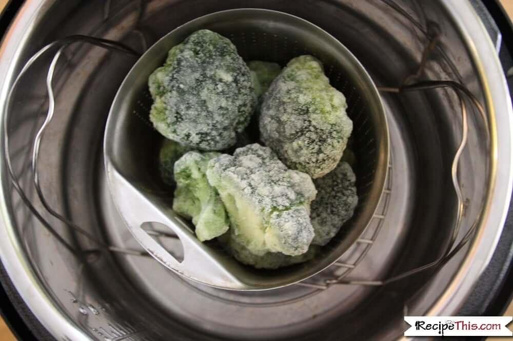 Instant Pot Frozen Broccoli