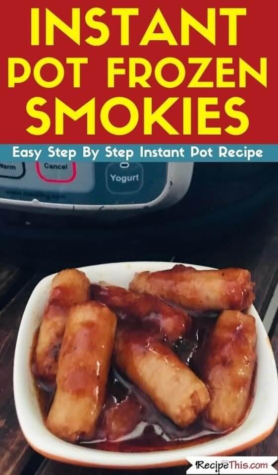 Instant Pot Frozen Smokies