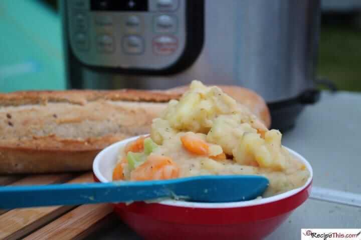 Instant Pot Ham Bone And Bean Soup