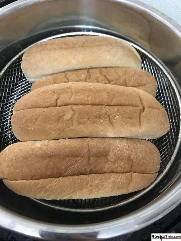 Instant Pot Hot Dog Buns