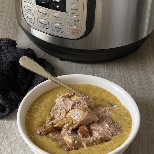 Instant Pot Leftover Turkey Soup