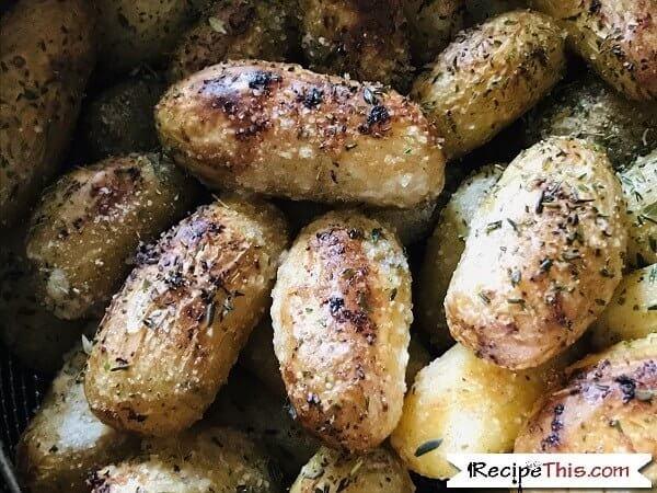 Instant Pot New Potatoes crispy potatoes