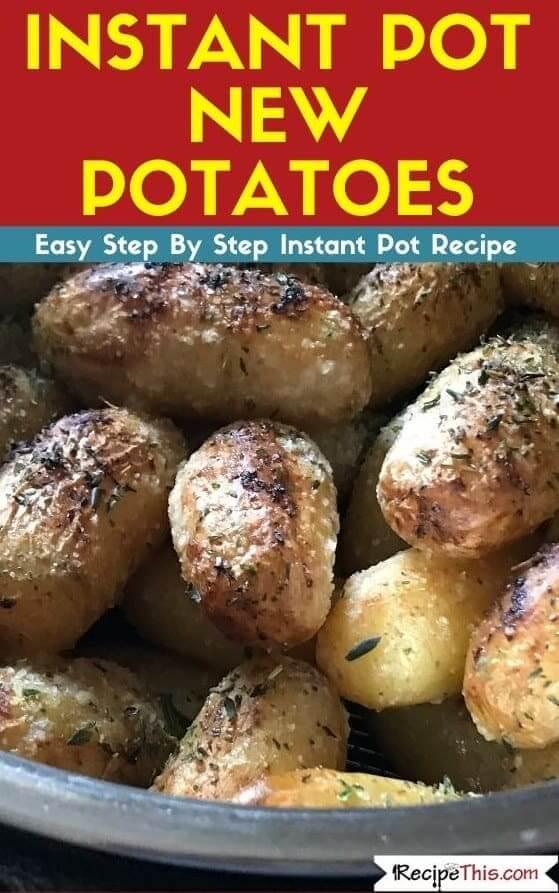 Instant Pot New Potatoes