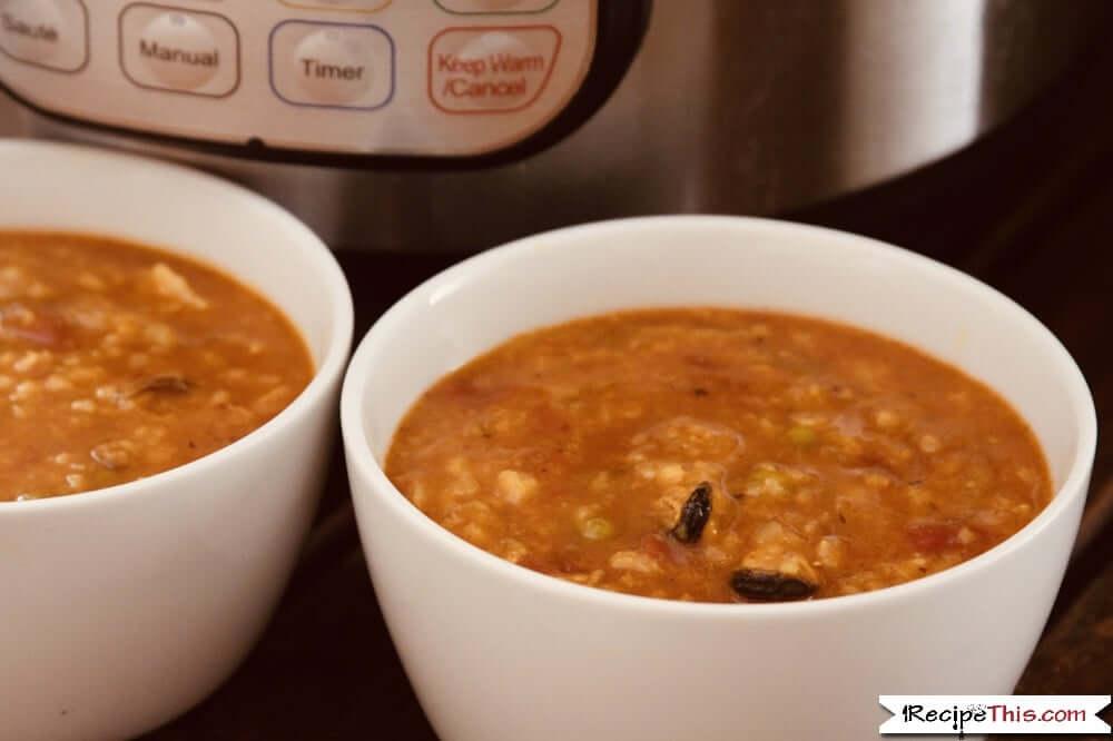 Instant Pot Paella Soup
