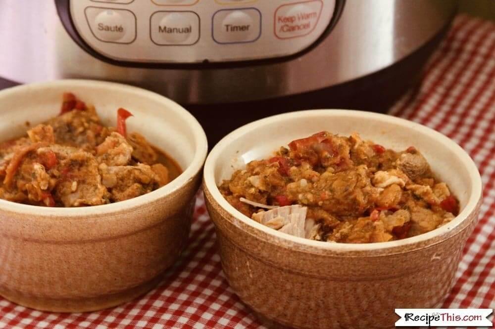 Instant Pot Pork Cataplana