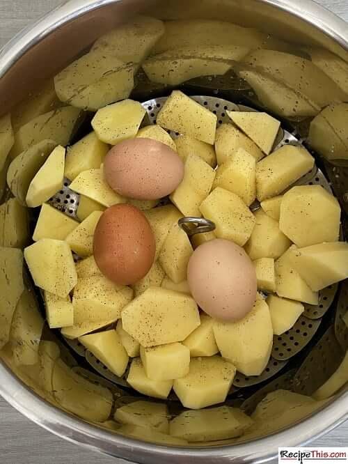 Instant Pot Potato Salad With Eggs