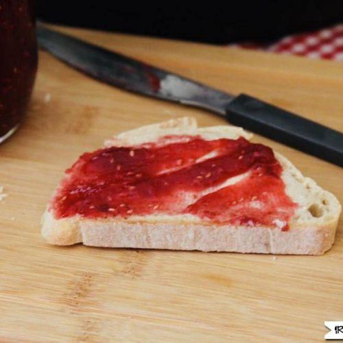 Instant Pot Raspberry Jam No Pectin