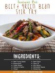 Instant Pot Beef & Green Bean Stir Fry