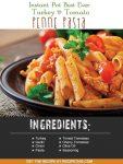 Instant Pot Best Ever Turkey & Tomato Penne Pasta