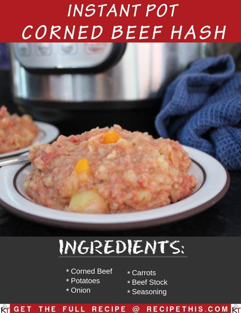 Instant Pot Corned Beef Hash