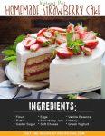 Instant Pot Homemade Strawberry Cake