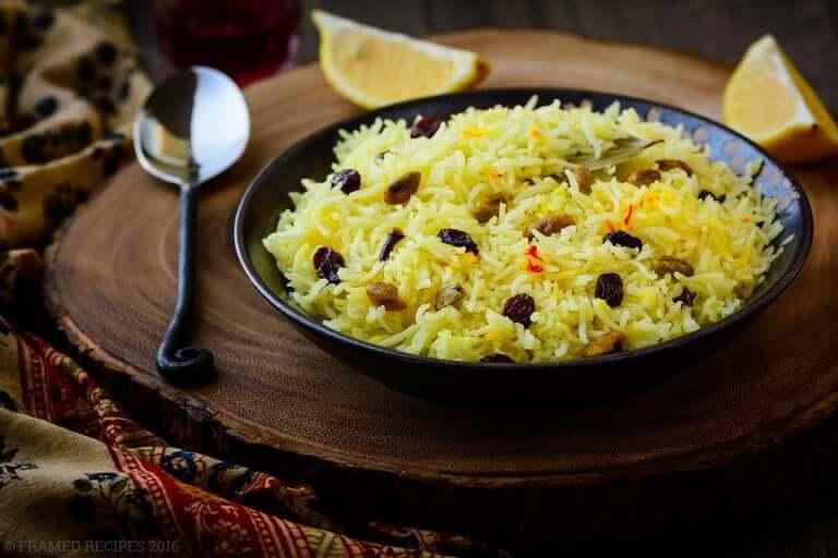 Instant Pot Recipes | Instant Pot Saffron Rice