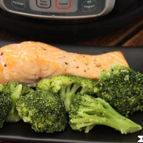 Instant Pot Salmon Broccoli