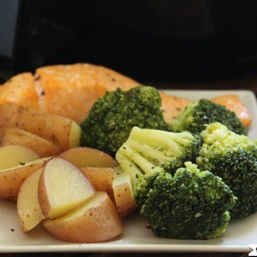 Instant Pot Salmon Broccoli And Potatoes