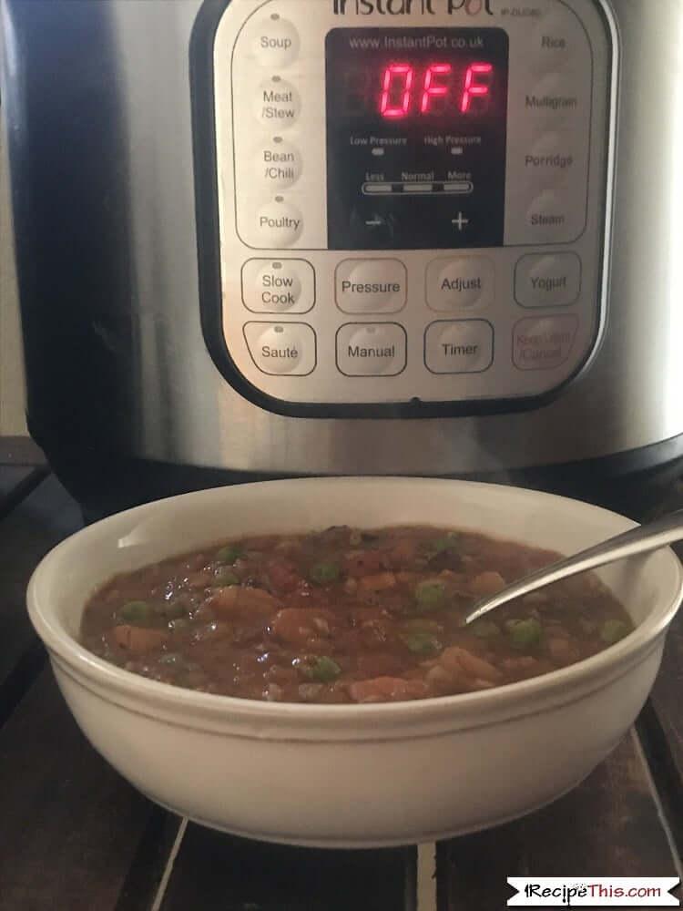 Instant Pot Scottish Beef Stew