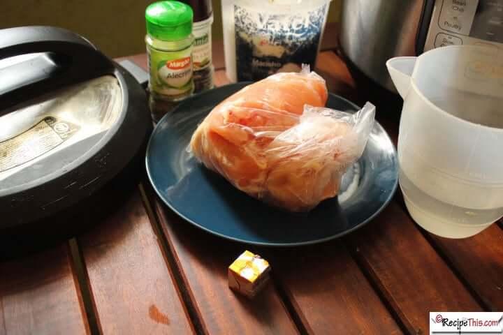 Instant Pot Shredded Chicken Breast