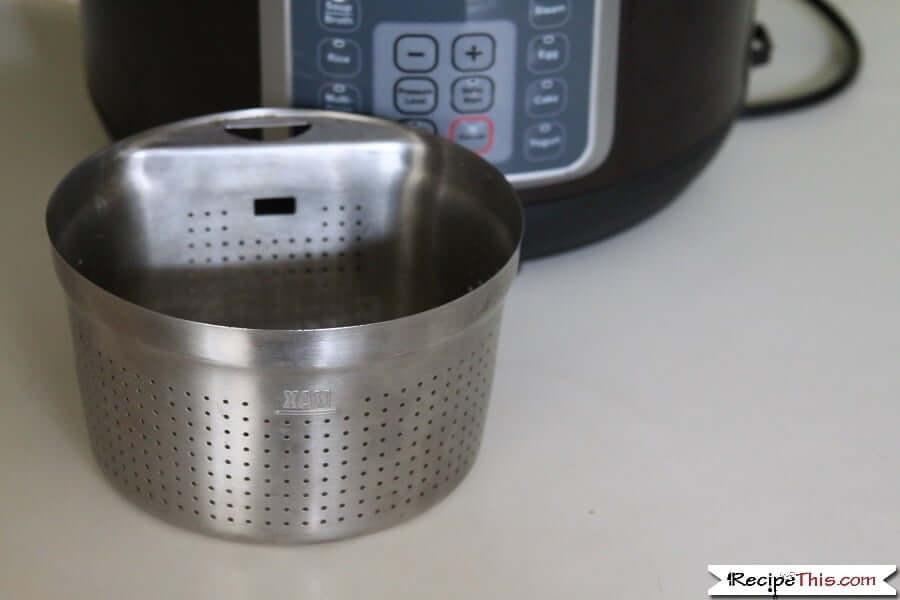 Instant Pot Steamer Basket - My old steamer basket