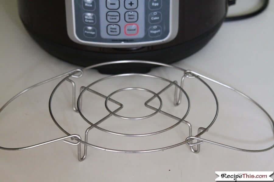 Instant Pot Steamer Basket - my mealthy trivet