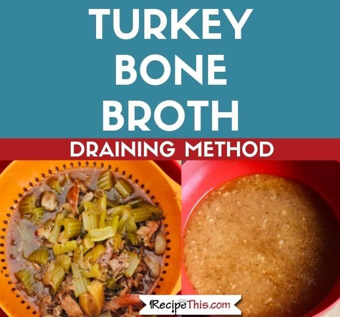 Instant Pot Turkey Bone Broth
