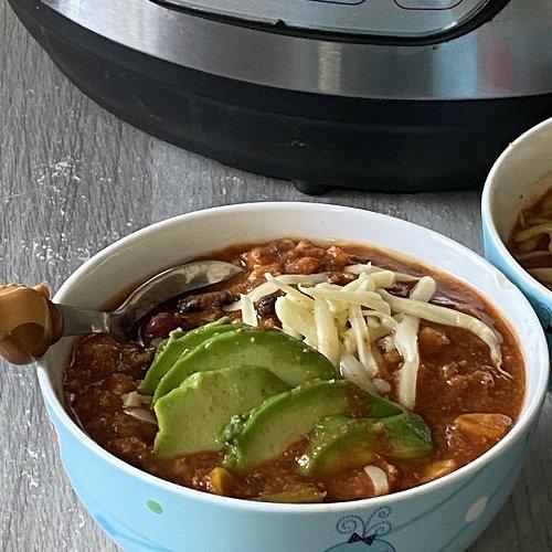 Instant Pot Turkey Chilli