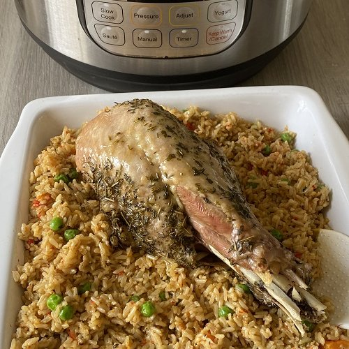 Instant Pot Turkey Legs And Rice