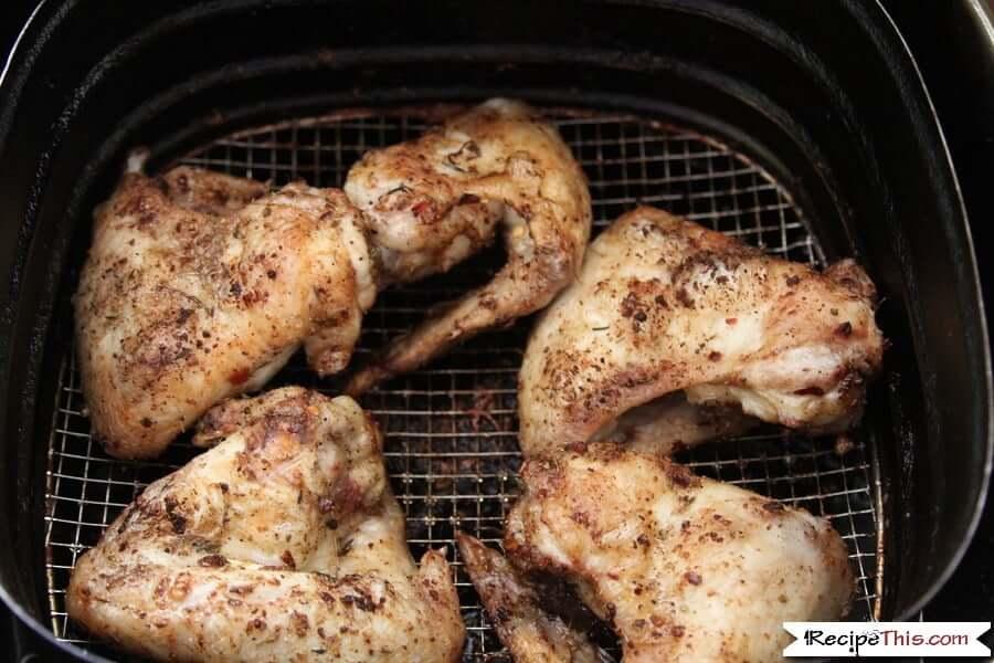 Jamaican Jerk Chicken Wings In The Air Fryer
