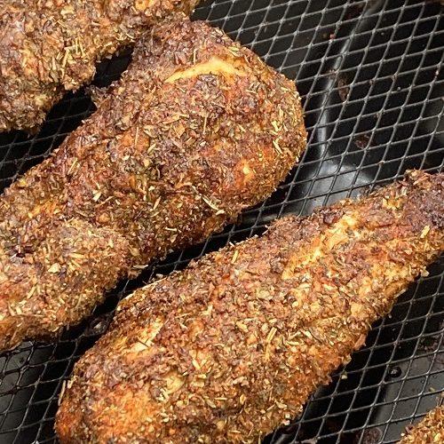 KFC Unbreaded Chicken Tenders In Air Fryer