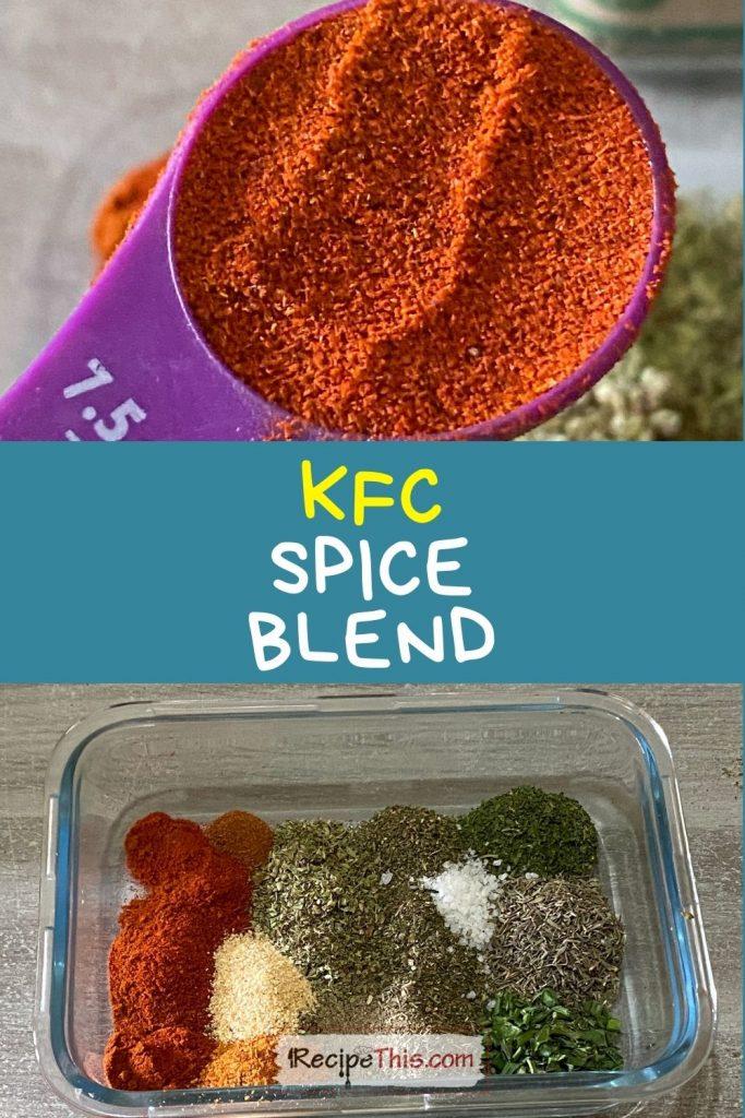 KFC spice blend for air fryer chicken