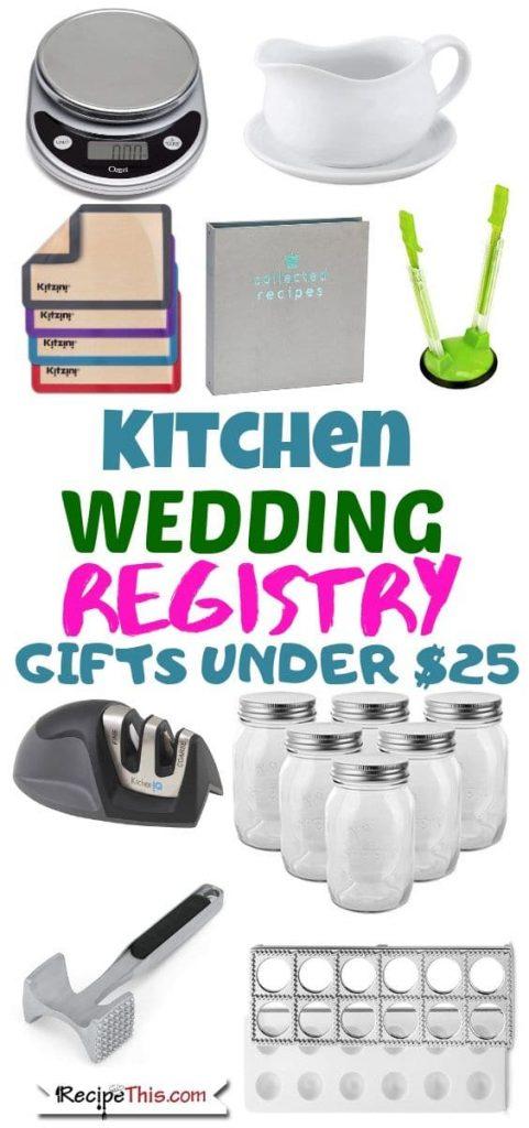 101 Best Wedding Registry Kitchen Gifts